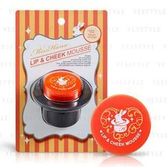 Miss Hana - Lip And Cheek Mousse (#01 Magic Orange)