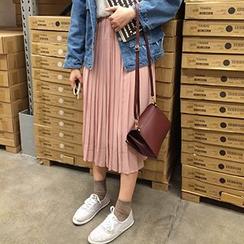 Dute - Pleated Midi Skirt