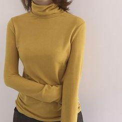 ByPeggie - High Neck Long-Sleeve T-Shirt