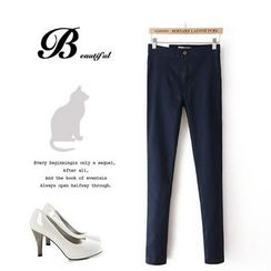 Ainvyi - High Waist Skinny Jeans