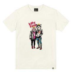 the shirts - Punk Kitty Print T-Shirt