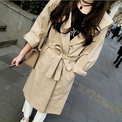 AMELA - Hooded Trench Coat