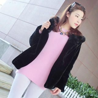 QZ Lady - Furry Long Sweater