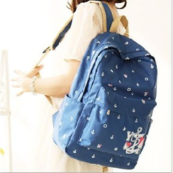 Canvas Love - Anchor Canvas Backpack