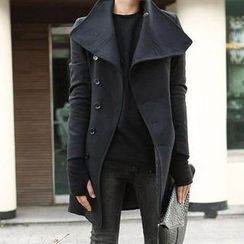 Free Shop - Single-Breasted Coat