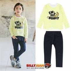 BILLY JEAN - Kids Set: Stripe T-Shirt + Harem Pants