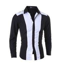 Hansel - Color Block Shirt