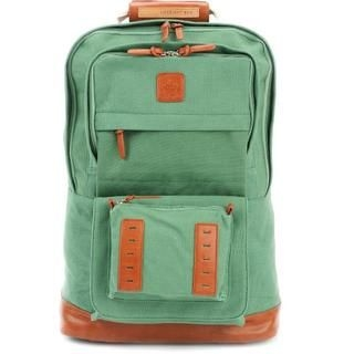 Life 8 - Leather-Trim Canvas Backpack