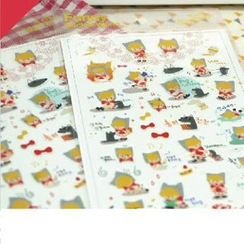 Full House - Cartoon Figure Pattern Stickers