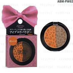 Dear Laura - Automatic Beauty Eyebrow Powder (Orange / Brown)