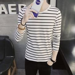 JVR - Long-Sleeve Striped T-Shirt