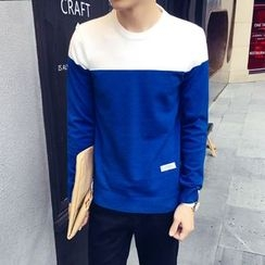 JVR - Contrast-Color Sweater
