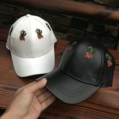 Hats 'n' Tales - Cactus Embroidered Baseball Cap