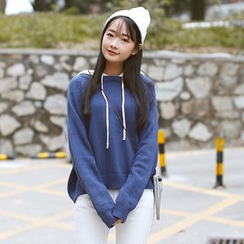 Sens Collection - Color Panel Knit Hoodie