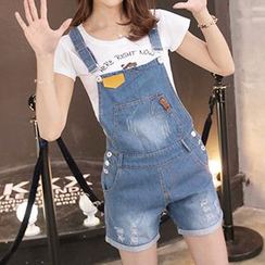 Fashion Street - Denim Jumper Shorts