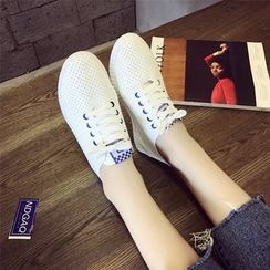 Laceuplux - Perforated Sneakers