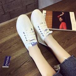 Laceuplux - 镂空休閒鞋