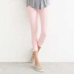 SO Central - Elasticized-Waist Skinny Pants