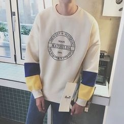 Arthur Look - Embroidered Sweatshirt