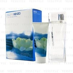 Kenzo - LEau Par Kenzo Coffret: Eau De Toilette Spray 100ml/3.4oz + Moisturizing Body Gel 75ml/2.5oz