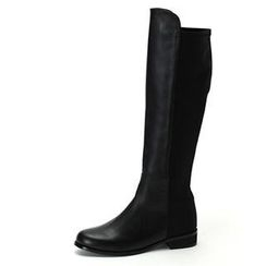 MODELSIS - Genuine Leather Knee-High Boots