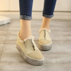 楊董 - 散邊邊厚底輕便鞋