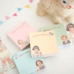 iswas - 'Paper Doll Mate' Series Memo Pad