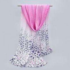 Eva Fashion - Printed Chiffon Scarf