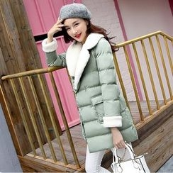 Romantica - Fleece-Trim Puffer Coat