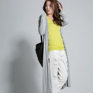 LULUS - Buttoned Long Cardigan