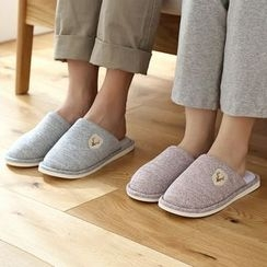 Lazy Corner - Appliqué Slippers