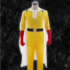 Comic Closet - One Punch Man Saitama Cosplay Costume