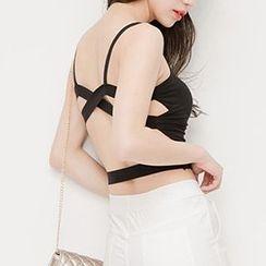 Corella - Open Back Camisole Top
