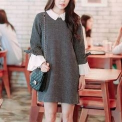 Jolly Club - Dotted Collared Dress