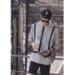 Mr. Cai - Drawstring Hooded Pullover