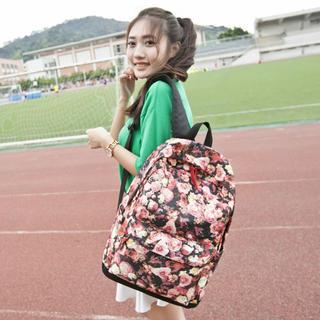 VIVA - Floral Print Backpack