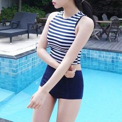 LANYI - Striped Tankini