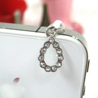 Na Na - Rhinestone Mobile Earphone Plug