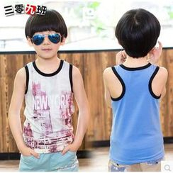 Lullaby - Kids Print Tank Top