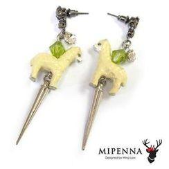 MIPENNA - Velvet Alpaca - Earring
