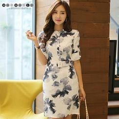 Maymaylu Dreams - Long-Sleeve Print Dress