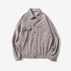 T for TOP - Embroidered Buttoned Jacket