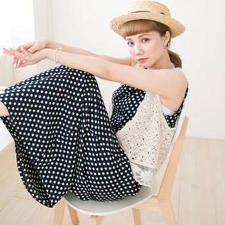 CatWorld - Lace-Hem Crochet Vest