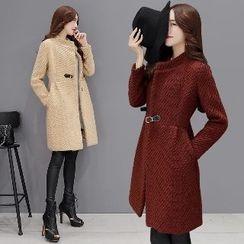 Romantica - Buckled Buttoned Coat