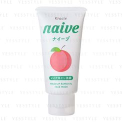 Kracie - Naïve Makeup Removal Face Wash (Peach Leaf)