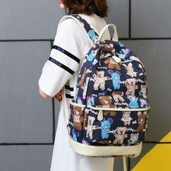 VIVA - Bear Print Backpack