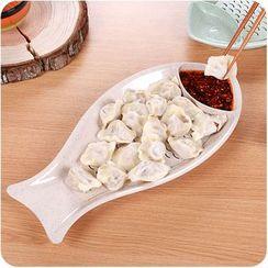 Eggshell Houseware - 魚形盤子