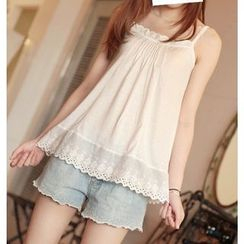 Aigan - Lace Tank Top