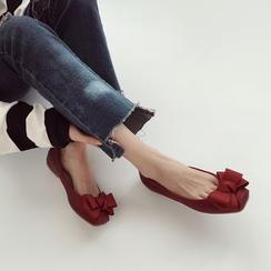 Linda Lane - 饰结平跟鞋