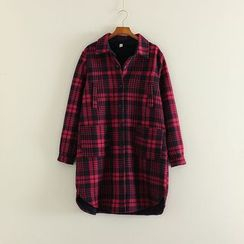 Mushi - Plaid Long Shirt